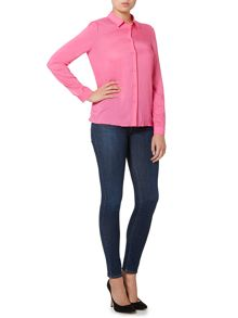 Armani Jeans Long sleeve woven blouse