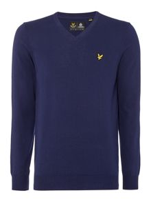V-Neck Long Sleeve Jumper
