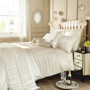 Kylie Minogue Eleanora Oyster Square Pillowcase