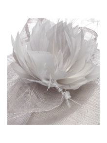 Shubette Bow fascinator with feather details