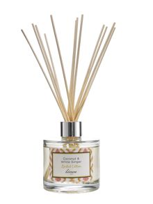 Linea Coconut & White Ginger Scented Reed Diffuser
