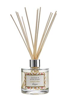 Coconut & White Ginger Scented Reed Diffuser