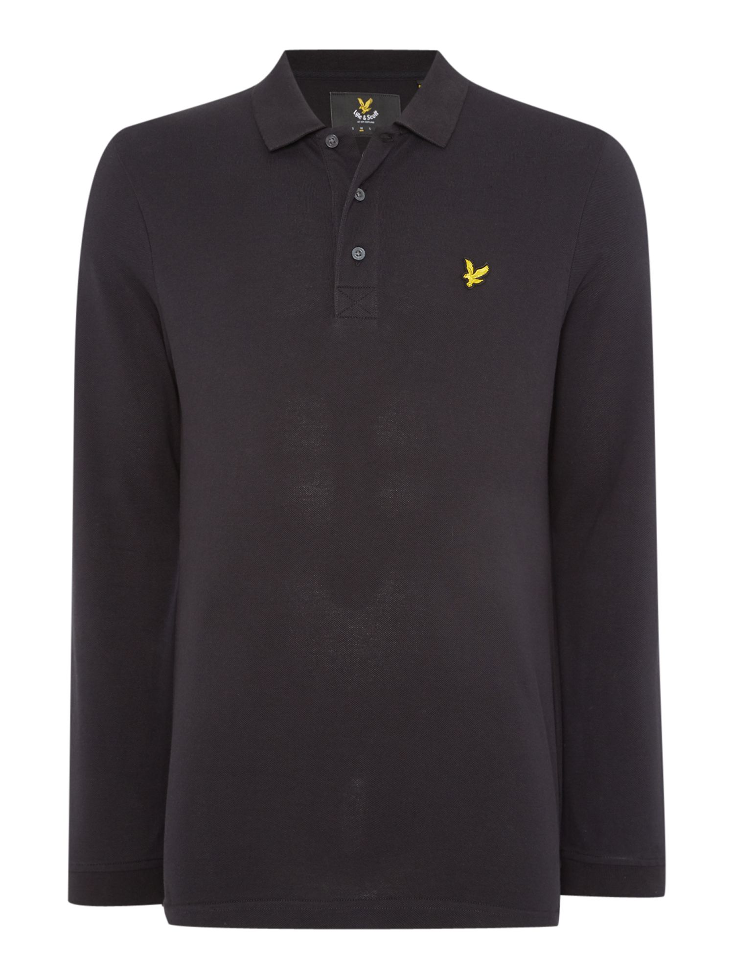 Men's Lyle and Scott Long Sleeve Classic, Black