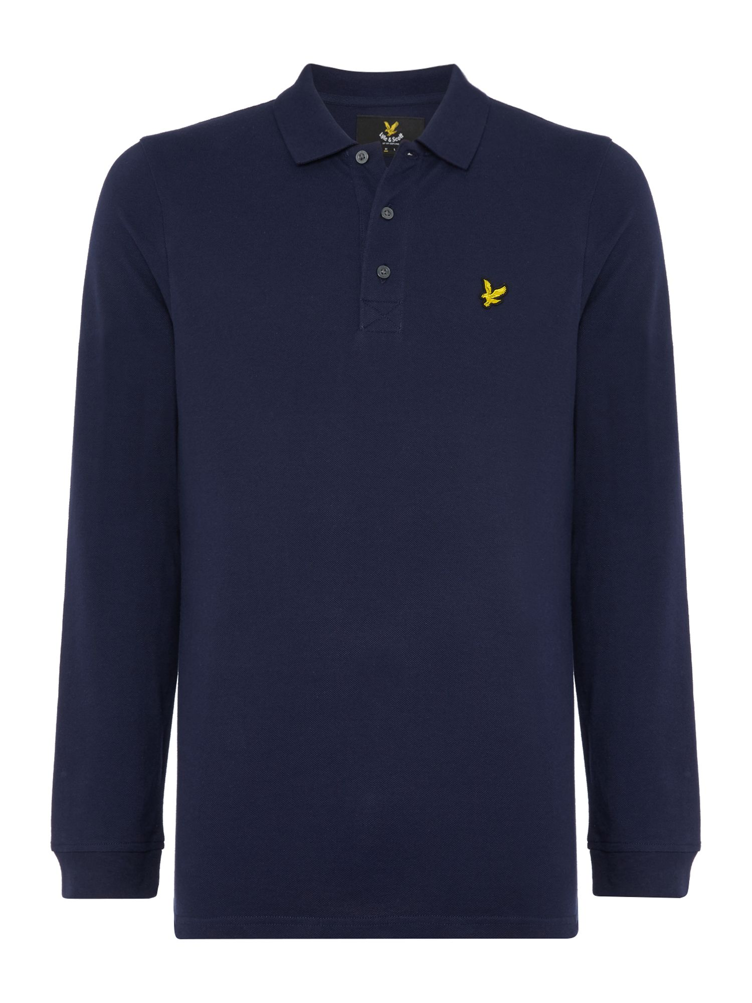Men's Lyle and Scott Long Sleeve Classic, Blue