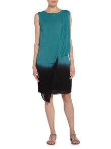 Label Lab Dip dye scoop back dress
