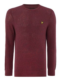Men's Lyle and Scott Crew Neck Marl Seed