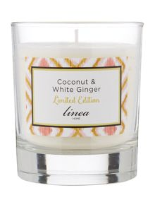 Linea Coconut & Ginger Scented Candle