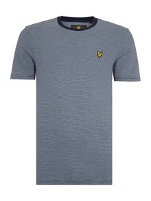 Lyle and Scott Fine Stripe Short Sleeve T-shirt