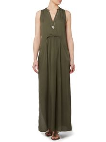 Gray & Willow PERLA POCKET DETAIL MAXI DRESS