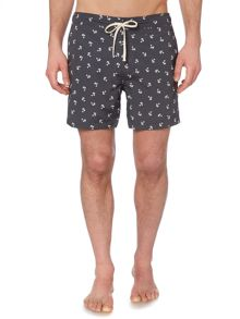 Linea Palm Print Swim Shorts