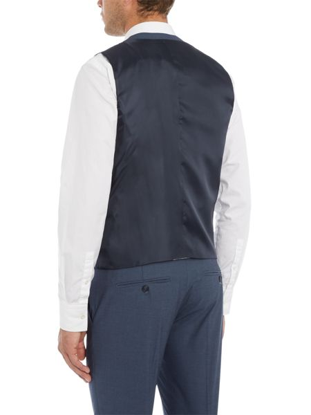 Selected Homme Jack Blue Waistcoat