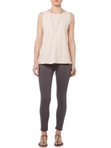 Gray & Willow Gemma Pleat Back Vest Top