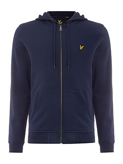 Zip Through Hooded Sweatshirt