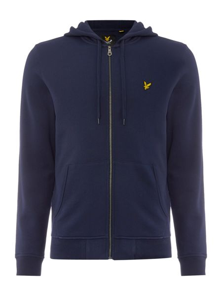 Lyle and Scott Zip Through Hooded Sweatshirt