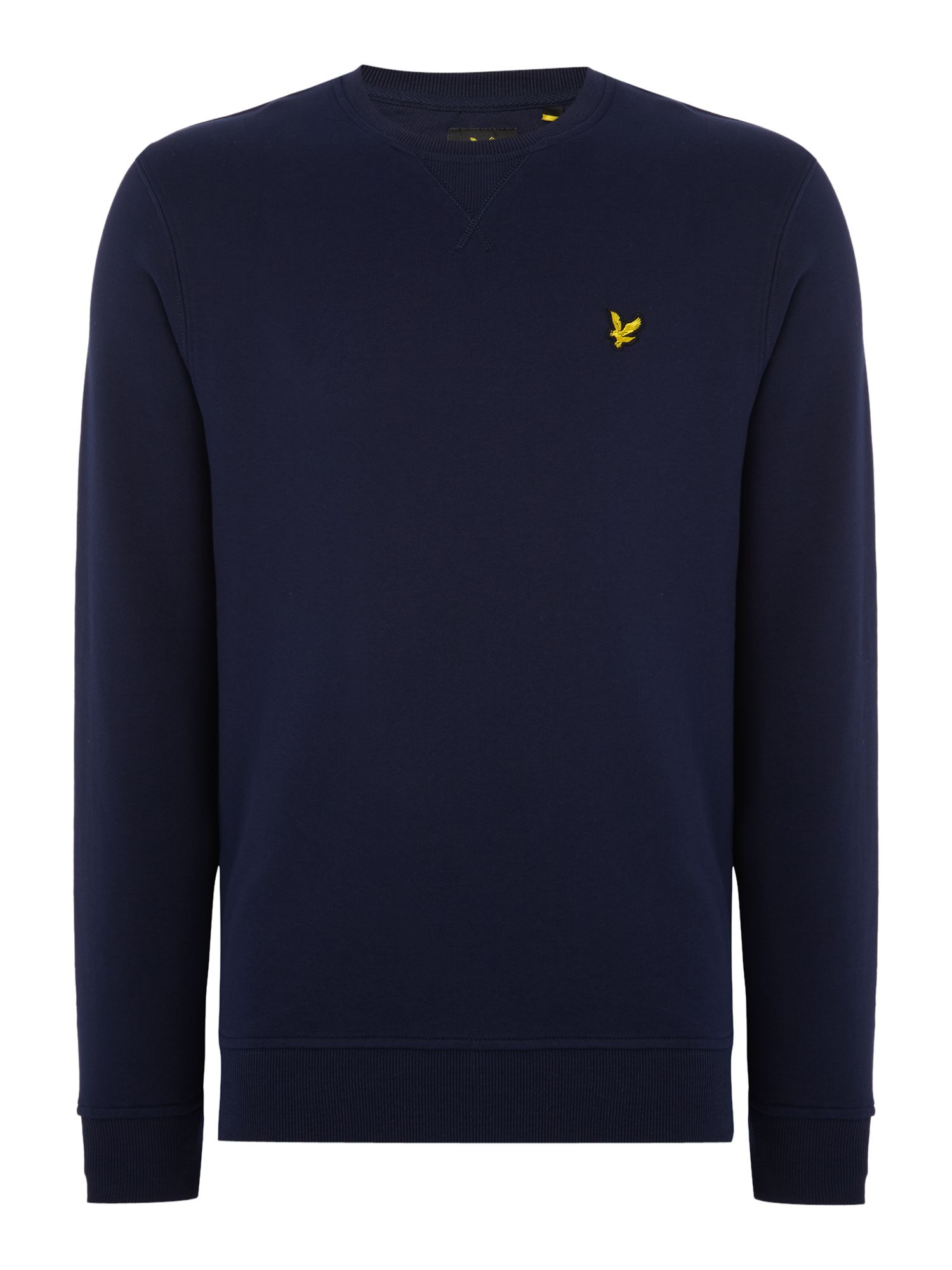 Men's Lyle and Scott Crew Neck Sweatshirt, Blue
