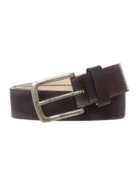 Tommy Hilfiger Thiery Tumbled Leather Belt