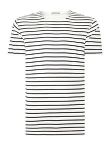 Selected Homme Moon Open-Neck Tee