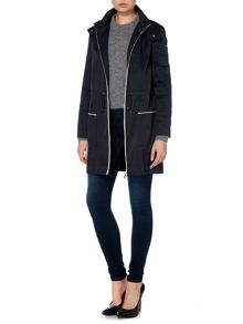 Armani Jeans Light weight parka jacket with detatchable hood