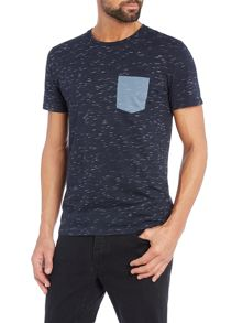 Selected Homme Dindi Open-Neck Tee