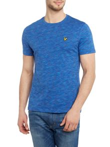 Lyle and Scott Space Dye Crew Neck Short Sleeve T-shirt