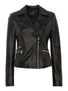Armani Jeans Classic leather jacket
