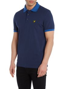 Lyle and Scott Space Dye Collar Polo Shirt