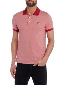 Lyle and Scott Fine Stripe Jersey Short Sleeve Polo