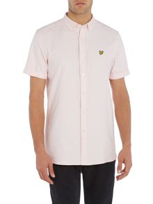 Lyle and Scott Short Sleeve Oxford Shirt