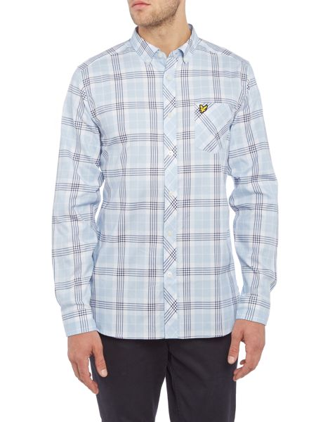 Lyle and Scott Check Long Sleeve Shirt