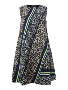 Sportmax Code Gettata printed shift dress
