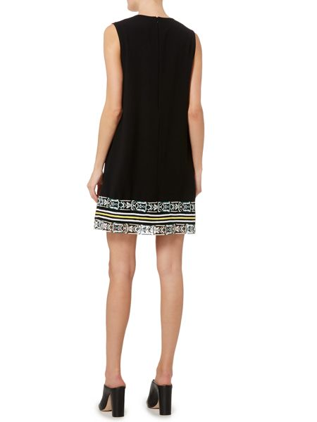 Sportmax Code Steppa v neck hem detail dress