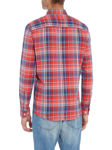 Duck and Cover Todd Long Sleeve Check shirt