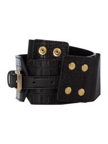 Linea Linea buckle detail waist belt