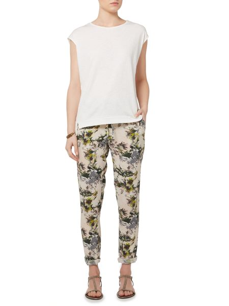 Gray & Willow Alitha print trouser