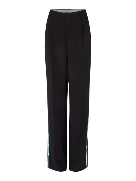 Sportmax Code Cestino side stripe long trouser