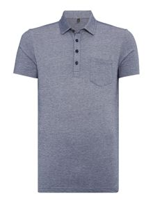 Benetton Short Sleeve Oxford Pocket Detail Polo