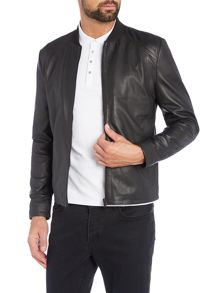 Selected Homme Clean Leather Jacket