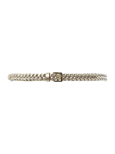 Therapy Therapy metallic weave belt