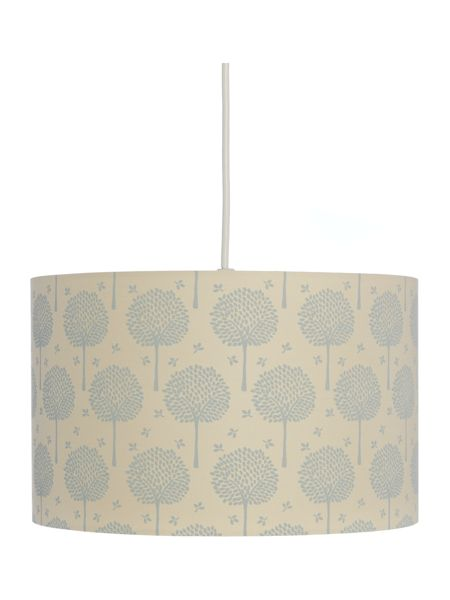 Dickins & Jones Corina Teal Tree Printed Shade