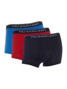 Polo Ralph Lauren 3 pack solid trunk