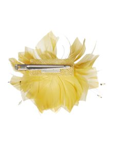 Linea Lilly clip feather fascinator