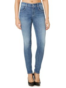 J20Lilac highrise super skinny jean in light wash