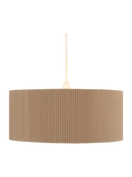 Casa Couture Rebecca Linen Shade with Diffuser