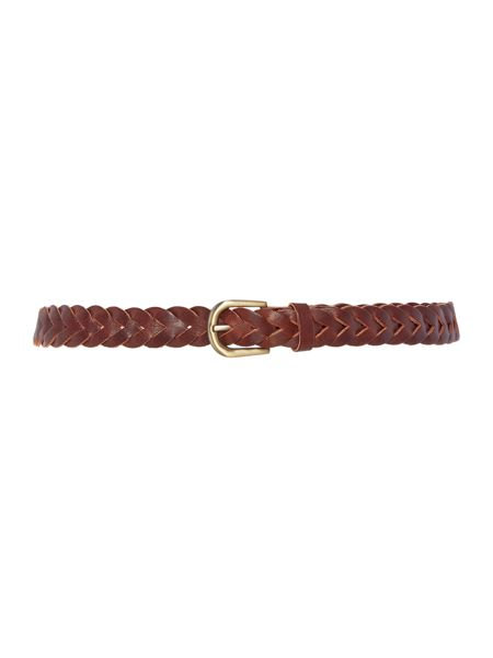 Dickins & Jones Plaited Jeans belt