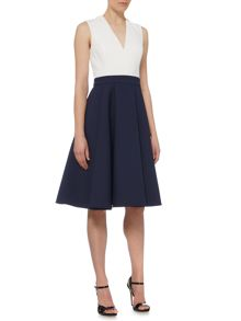Pied a Terre Orlena Colourblock Dress
