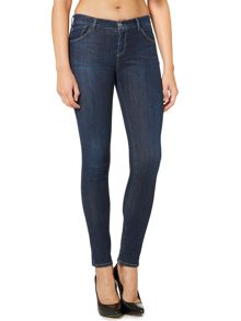 Armani Jeans J23 Lily push up skinny jean in dark wash