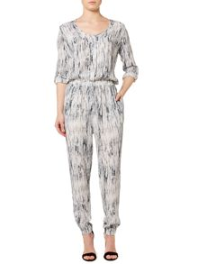 Gray & Willow Grassland print jumpsuit