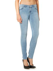 J23 Lily push up skinny jean in light wash