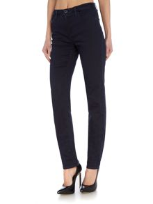 J85 Magnolia high rise straight jean in dark wash