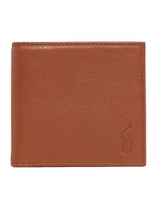Polo Ralph Lauren Leather pebble billfold wallet